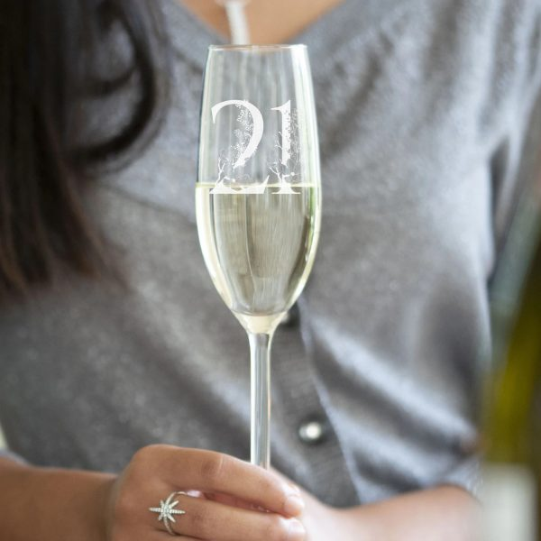 Champagne Glass Gift for Friend 1