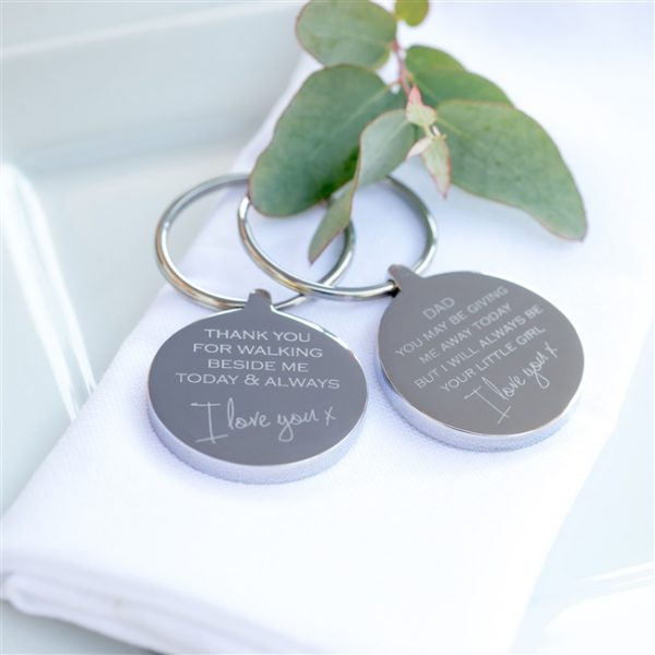Engraved Personalised Gift Keyring 1