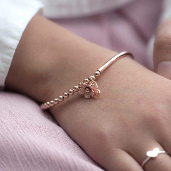 Flower Bracelet Jewellery Gift 6