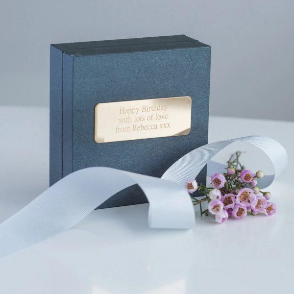 Gold Gift Box for Family
