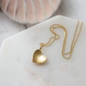 Heart of Gold Necklace Gift