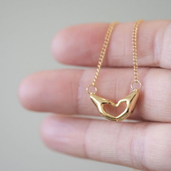 Love Arms Necklace Gift 2