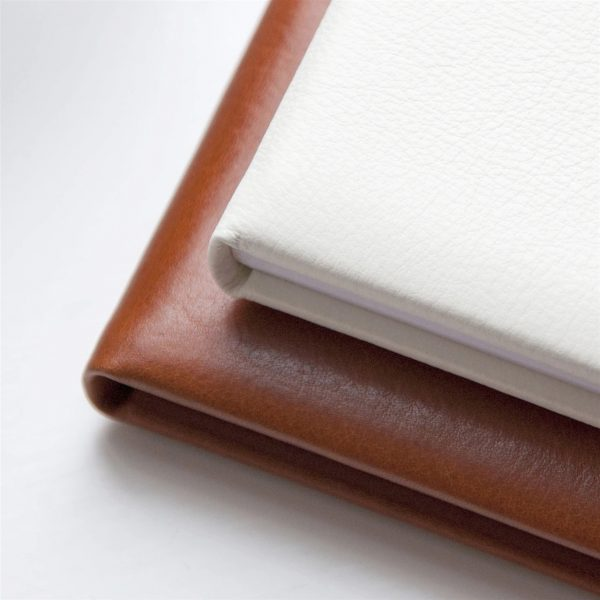 Personalised Tan Leather Gift Address Book 2