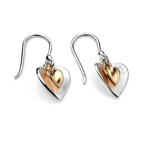 ilver Heart Earrings Gift For Women 4