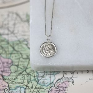 St Christopher Necklace Gift for friend 1