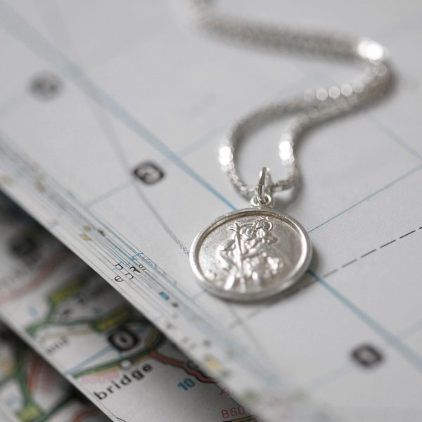 St Christopher Necklace Gift for friend 3