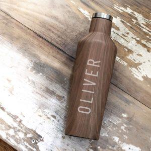 Wooden Water Bottle Gift