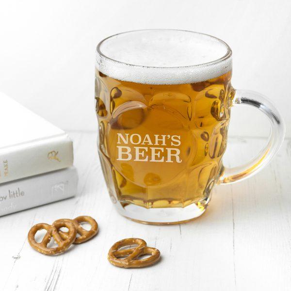 Personalised Beer Glass 4