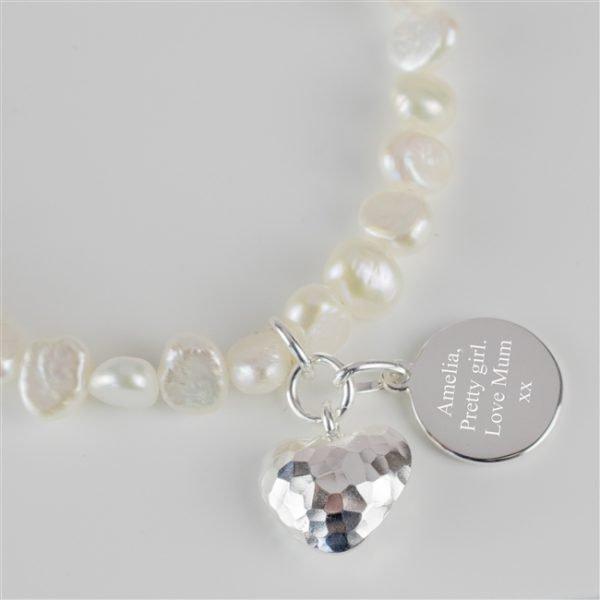 Personalised freshwater bracelet 2