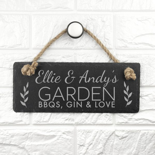 Personalised hanging sign 2