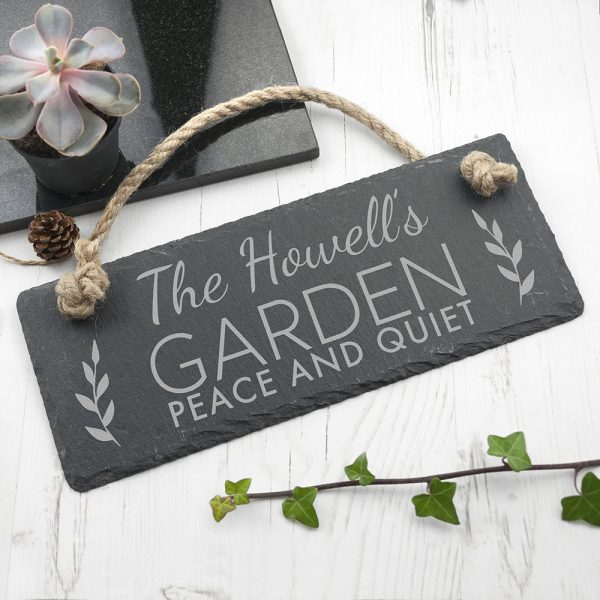 Personalised hanging sign 3
