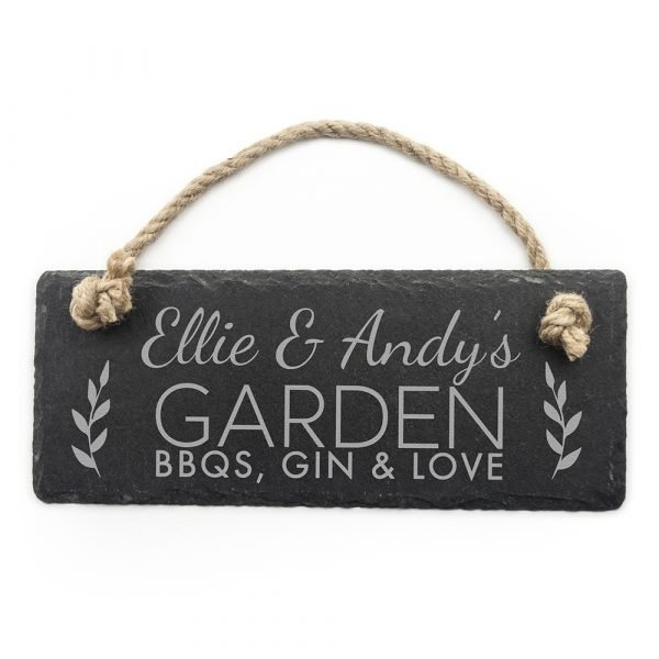 Personalised hanging sign 4