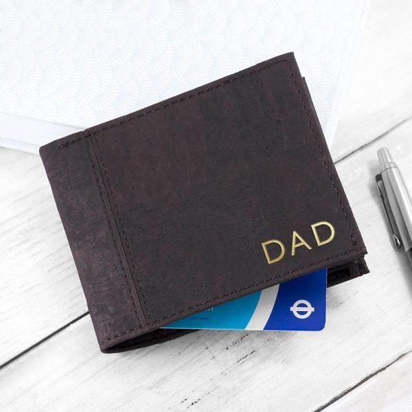 Personalised leather wallet 2