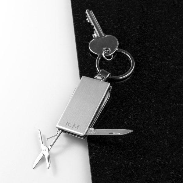 Personalised multi tool keyring 4