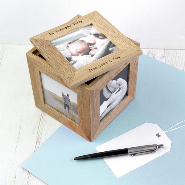 Personalised photo box