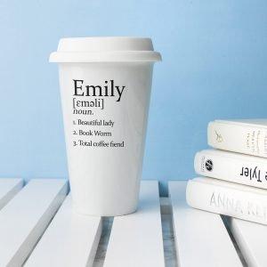 Ceramic Definition Cup