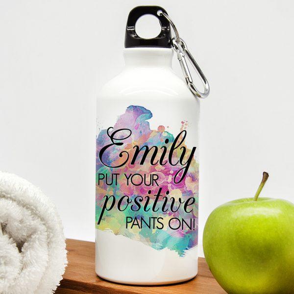 Perosnalised water bottle