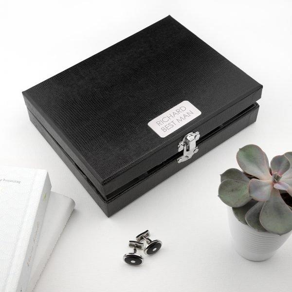 Personalised Cufflink Box 2
