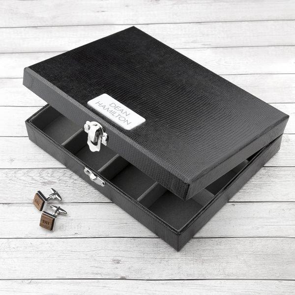 Personalised Cufflink Box 3