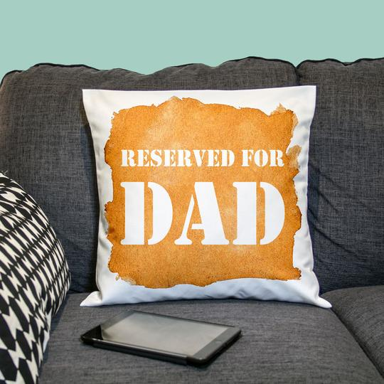 Personalised Cushion Cover for dad 4