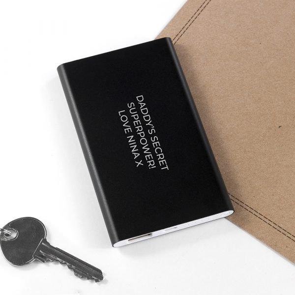 Personalised power pack 3