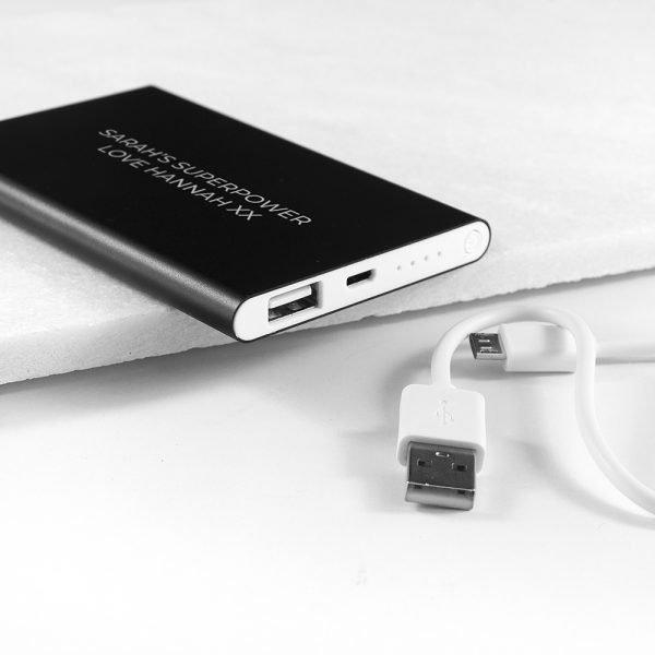 Personalised power pack 6
