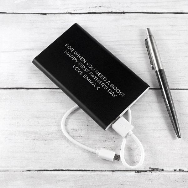 Personalised power pack