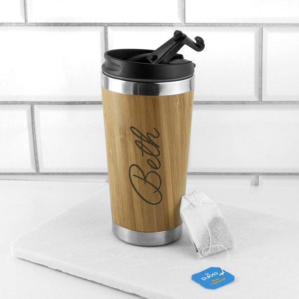 Personalised travel mug 2